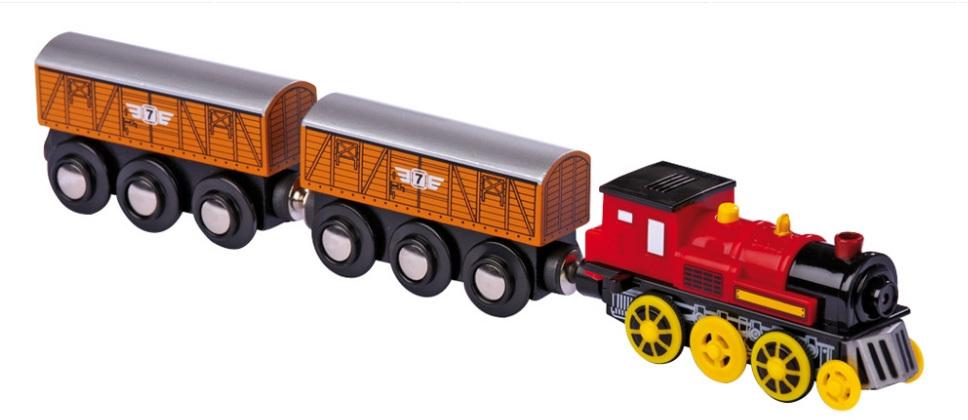 Des Circuits De Train En Bois Chez Les Enfants