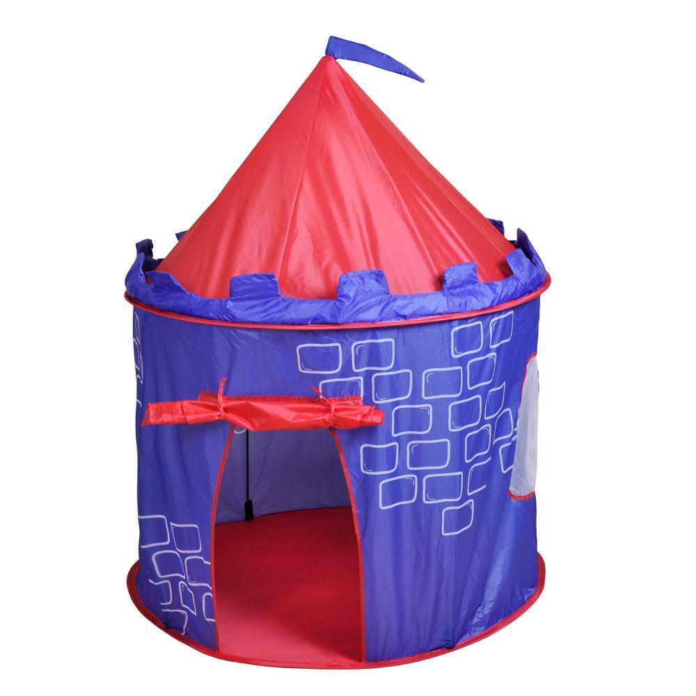 tente pop up ou cabane ch teau chez les enfants. Black Bedroom Furniture Sets. Home Design Ideas