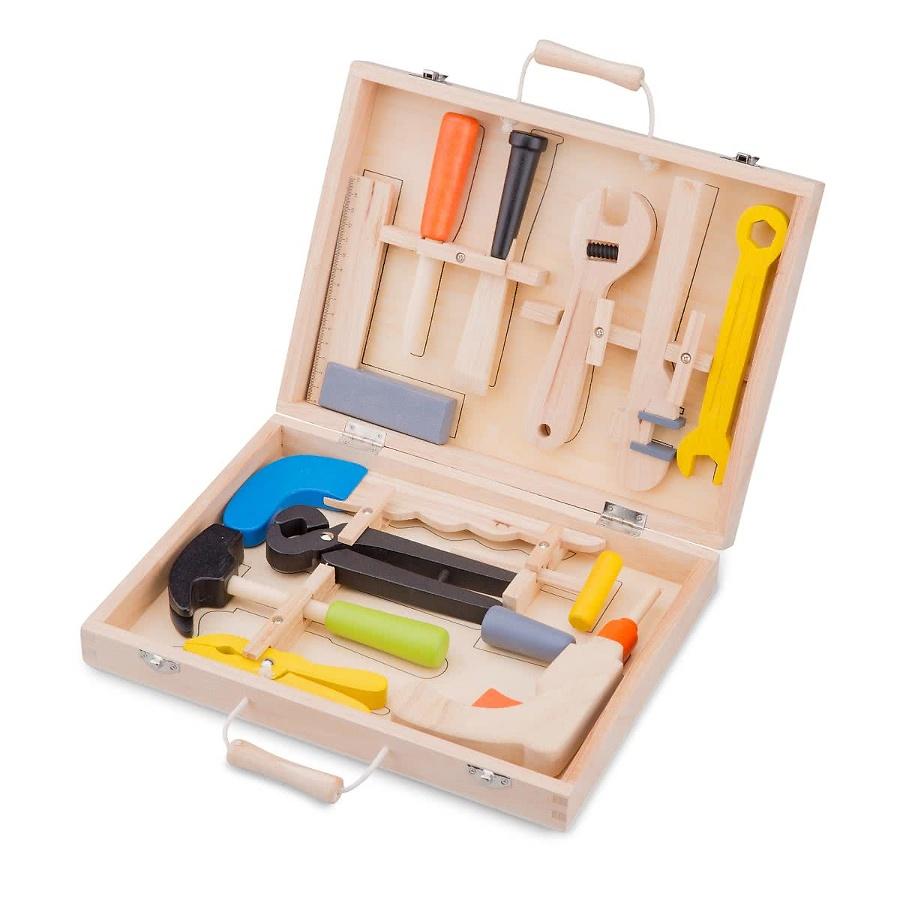 maxi boite outils en bois pour petit bricoleur d butant. Black Bedroom Furniture Sets. Home Design Ideas