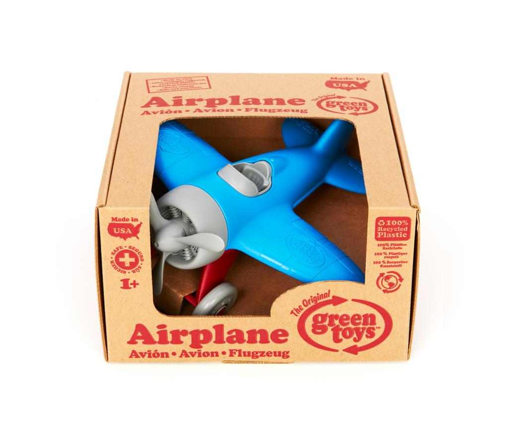Avion en plastique recyclé Green Toys