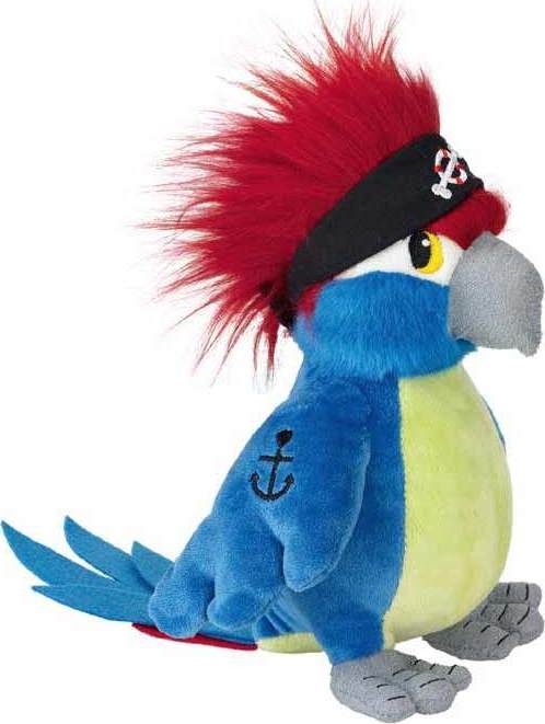 Peluche perroquet du pirate coco