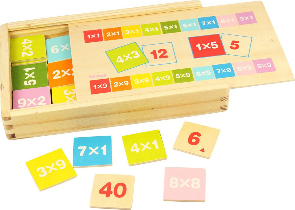 Coffret d 39 apprentissage des tables de multiplication en - Apprentissage table de multiplication ...