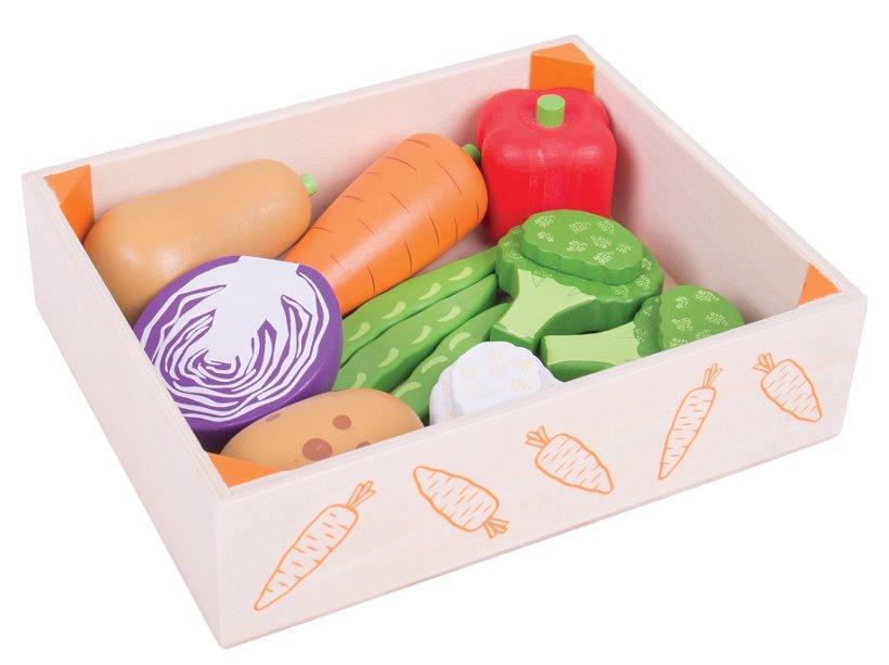 fruits et l gumes en bois jouets de d nette et marchande. Black Bedroom Furniture Sets. Home Design Ideas