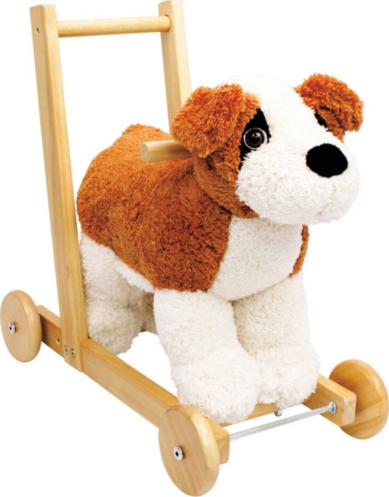 chariot de marche et chevaucher sonore chien chez les enfants. Black Bedroom Furniture Sets. Home Design Ideas