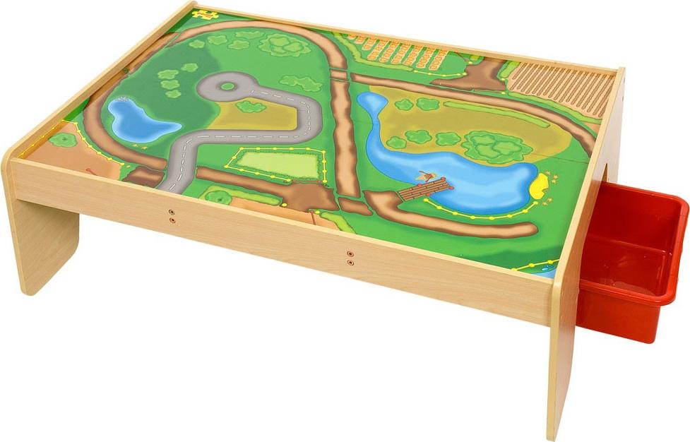 Table De Jeu En Bois Avec Tiroir Chez Les Enfants